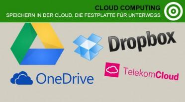 Speichern in der Cloud – Die Festplatte für unterwegs