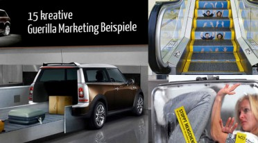 15 kreative Guerilla Marketing Beispiele