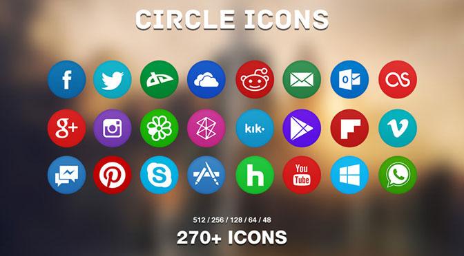 über 1000 Kostenlose Social Media Icons Zielbar