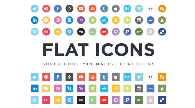 Super-cool-Minimalist-Flat-Icons