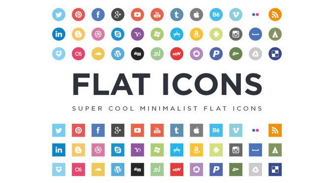 Super-cool-Minimalist-Flat-Icons