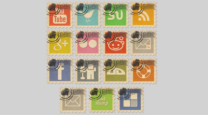 Vintage-Social-Media-Stamps