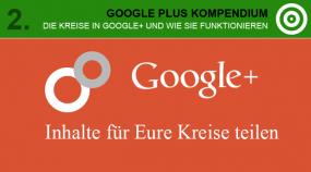 Google Plus - Inhalte für Eure Kreise