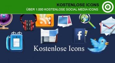 Über 1000 kostenlose Social Media Icons
