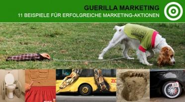 11 Beispiele für erfolgreiche Guerilla Marketing Aktionen