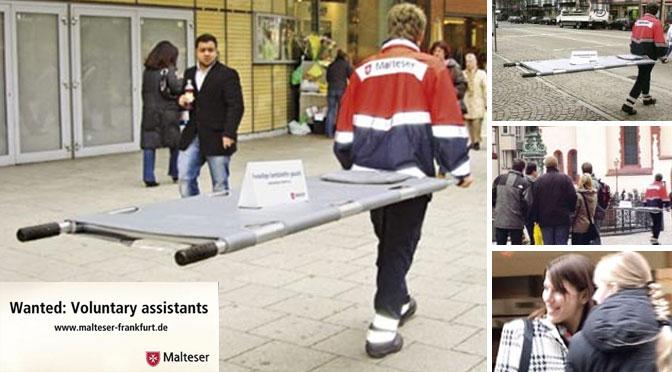Guerilla Beispiel Malteser