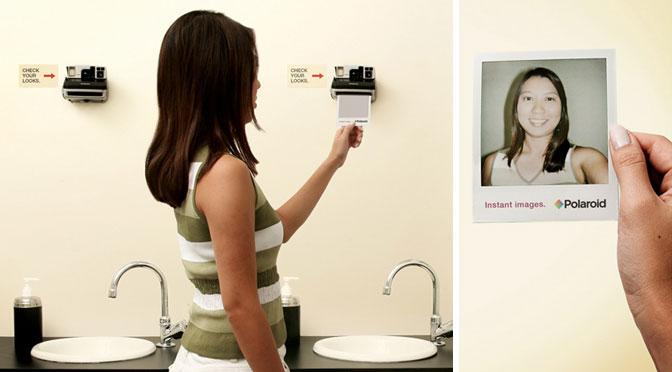 Guerilla Marketing Polaroid