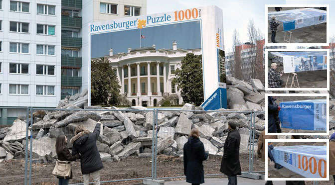 Guerilla Marketing Ravensburger