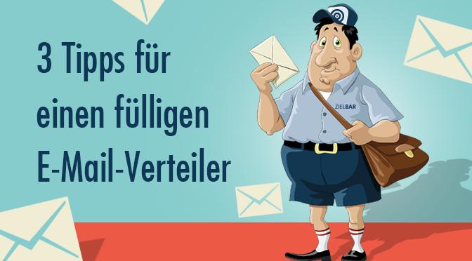 Tipps für einen größeren E-Mail-Verteiler