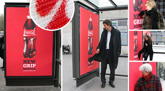 Guerilla Marketing Coke