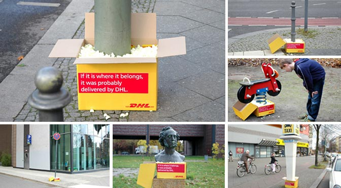 Guerilla Marketing DHL