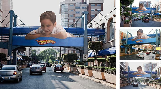 Guerilla Marketing Hot Wheels