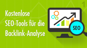 Kostenlose SEO-Tools - Backlink Analyse & Checker - 1