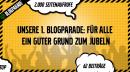 Unsere erste Blogparade: Für alle ein guter Grund zum Jubeln