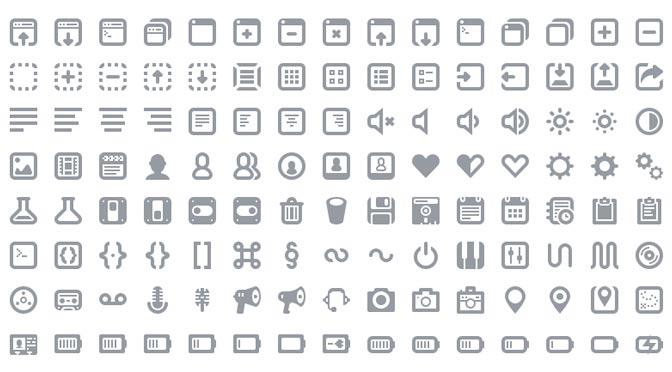 Icons- Adamwhitcroft