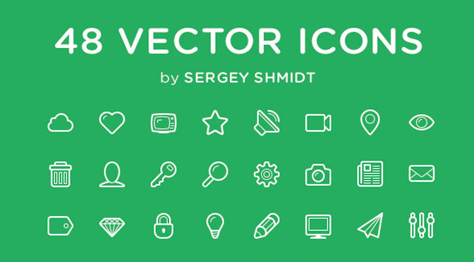 linecons free icons pack