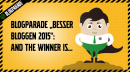 "Blogparade ""Besser bloggen 2015"": And the winner is…"