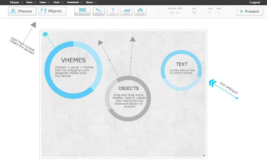 Screenshot easel.ly