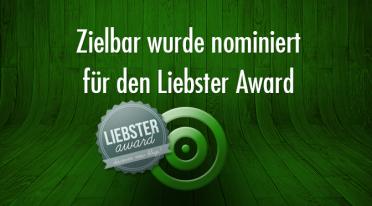 ZIELBAR wurde nominiert für den Liebster Award