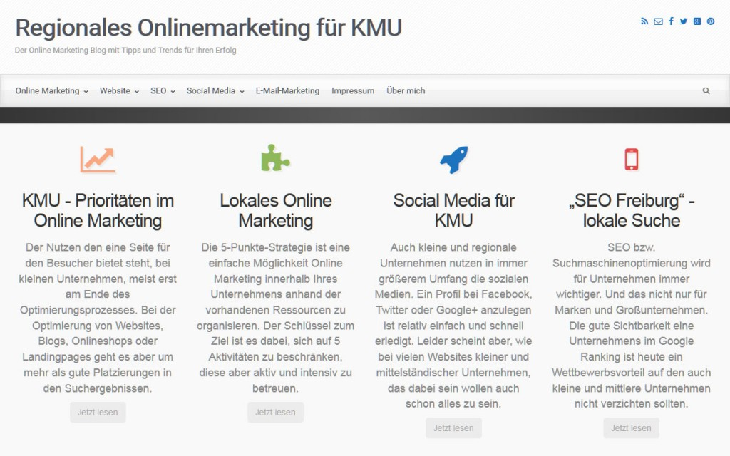 Regionales Onlinemarketing für KMU