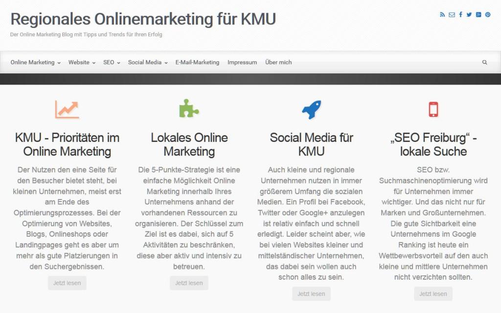Regionales Onlinemarketing für KMU