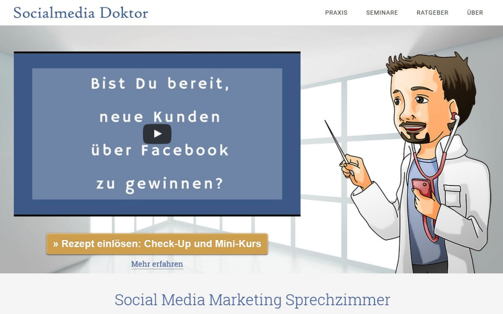 Socialmedia-Doktor - Social Media Marketing und Strategie