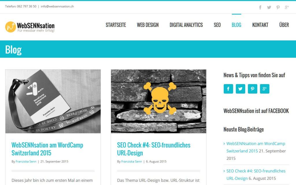 WebSENNsation - SEO und Webdesign