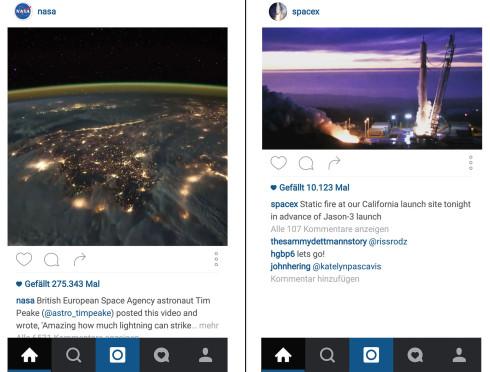 Beispiel 1: Instagram Format 8:10