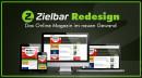 Redesign von Zielbar – Das Online-Magazin im neuen Gewand
