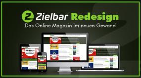Zielbar Redesign - Das Online Magazin im neuen Gewand