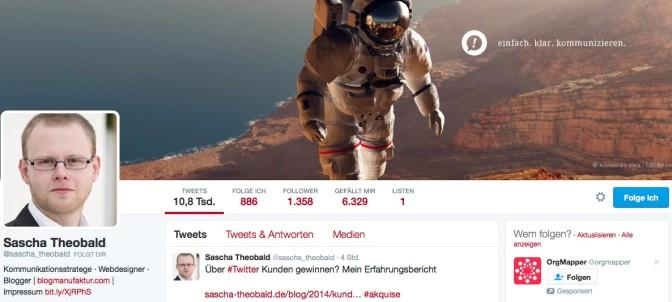 Social Selling via Twitter