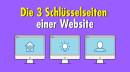 Worauf es bei den drei Schlüsselseiten gewerblicher Websites vor allem ankommt
