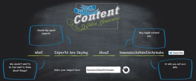 Portent's Idea Curator - Tool: Titlemaker