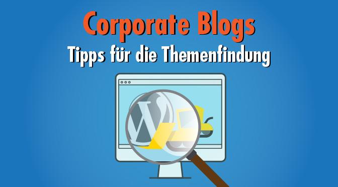 Content-Gold schürfen! Interne und externe Themenquellen für den Corporate Blog