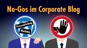 Content für die Tonne: Welche Inhalte NICHT in einen Corporate Blog gehören