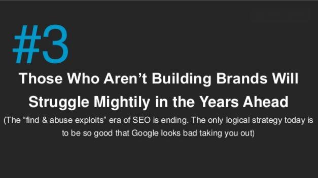Zitat: Brands und SEO bei Google