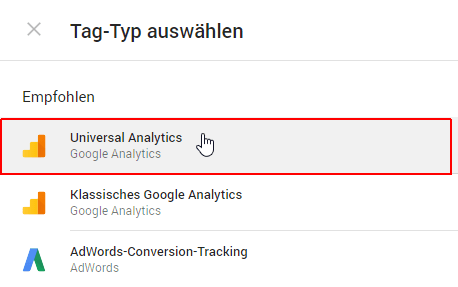 Google Tag Manager Anleitung Schritte