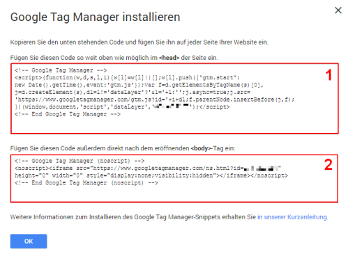 Google Tag Manager Seitenaufrufe Tracking