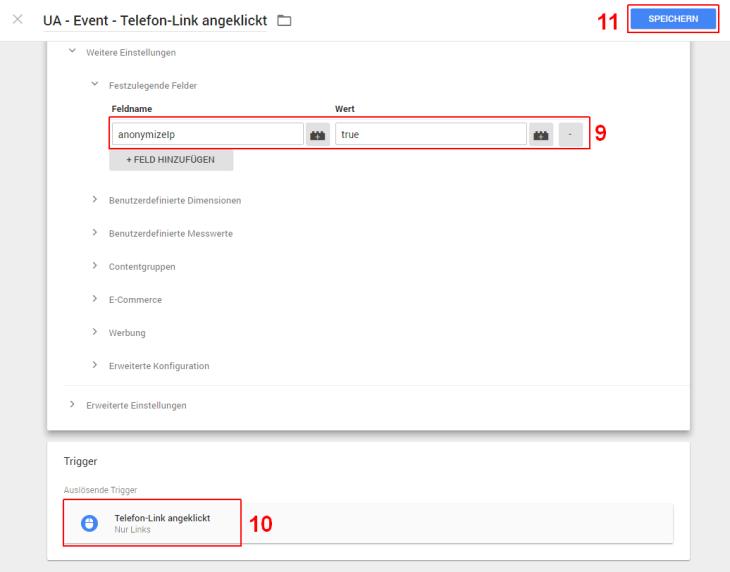Google Tag Manager UA Event