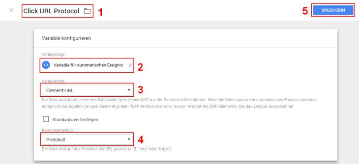 Google Tag Manager Click URL Protocol
