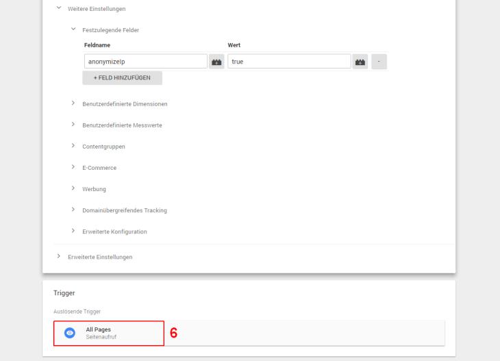 Trigger einrichten Google Tag Manager
