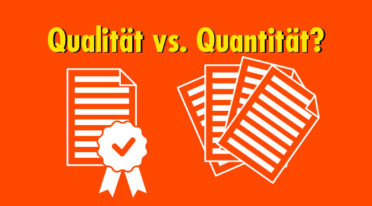 Qualität braucht keine Quantität: Worauf fokussierst du deine Kommunikation?