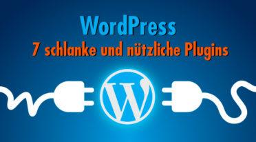 WordPress ist kein Leichtgewicht – und wartungsarm schon mal gar nicht