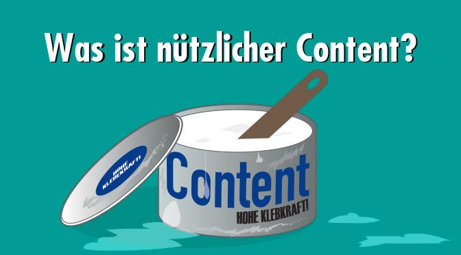 Nützlicher Content: Der Klebstoff, der dich mit deinem Publikum verbindet