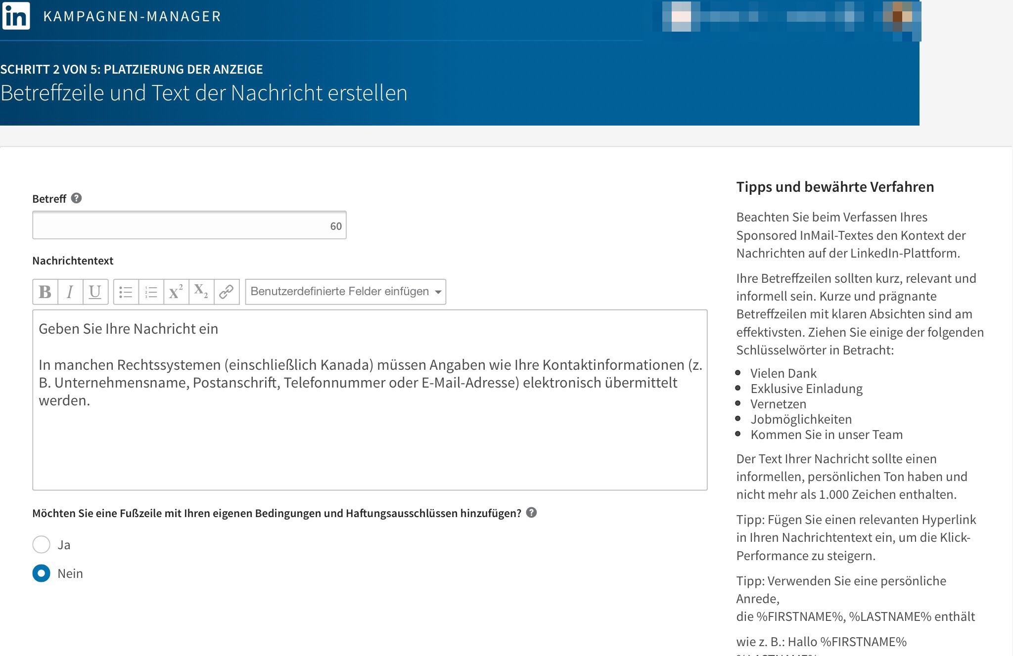 Fein Erstelle Lebenslauf Von Linkedin Galerie - Entry Level Resume ...