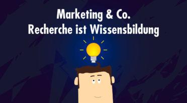 Content-Marketing: Recherche beginnt im Kopf und ist eine Frage der Haltung