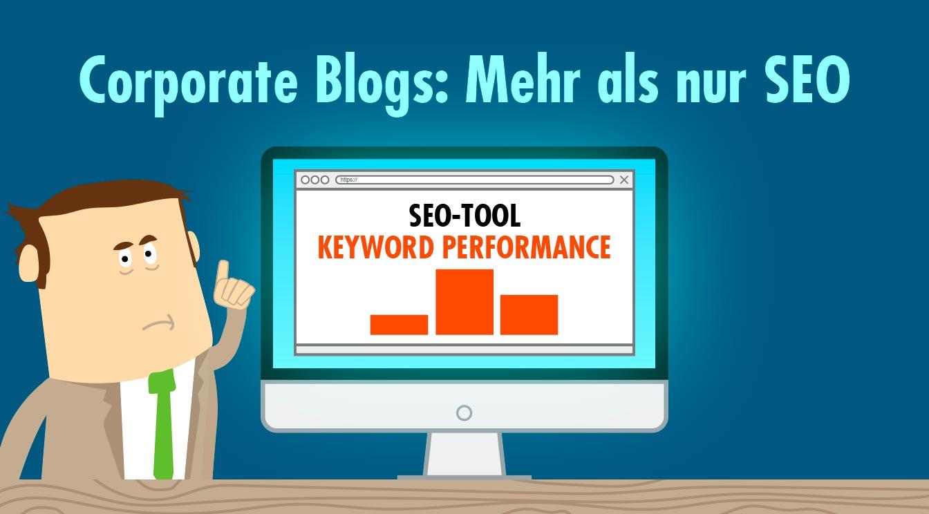 Corporate Blogs: Mehr als nur SEO