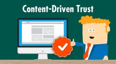 It's all about trust: Warum per Content aufgebautes Vertrauen so wertvoll ist