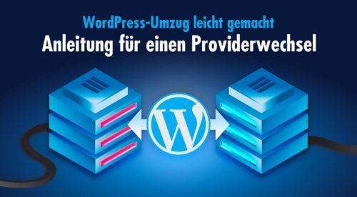 WordPress-Umzug leicht gemacht: In wenigen Schritten zum erfolgreichen Providerwechsel
