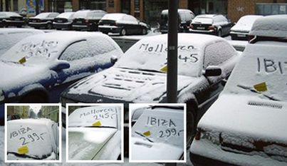 Snow Branding / Guerilla Marketing
